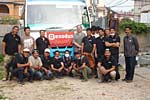 Nepal - The Exodus support team with Pete