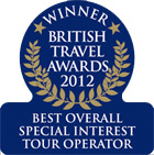 Winner of the Best Overall Special Interest Tour Operator