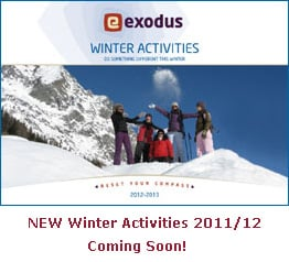 Coming Soon - NEW Winter Activities 2011/12