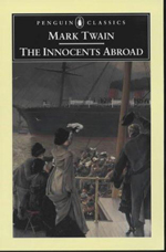 Book cover: The Innocents Abroad by Mark Twain