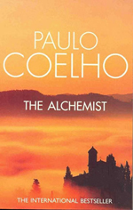 Book cover: The Alchemist by Paulo Coelho