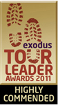 Exodus Highly Commended Award 2011