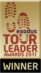 Exodus Tour Leader Award 2011 - Overall winner