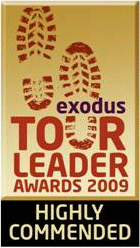 Exodus Tour Leader Awards 2009: Highly Commended