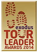 Exodus Tour Leader Award logo