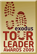 Exodus Tour Leader Awards 2009