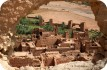 Views of Ait Benhaddou, oasis town in southern Morocco