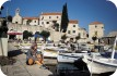 On the harbour at Bol, Brac Island, Dalmatian Coast