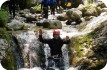 Canyoning near Kobarid