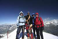 The Summit of the Breithorn