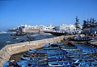 Boats in the harbour, Essaouira, Morocco