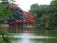 Ornamental lake, Hanoi, Vietnam