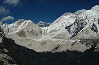 View towards Everest Base Camp, Nepal