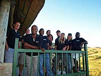 Tour leader training, Singabala Camp, Drakensberg, South Africa