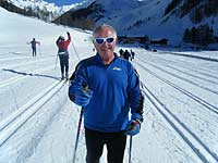 Cross country ski leader - Eric Woolley