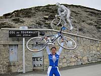 Summit of the Col du Tourmalet