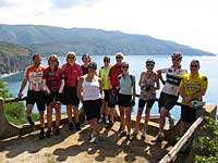 Cycle group on Capo Palinuro