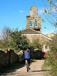 Cycling to Santa Catalina de Somosa