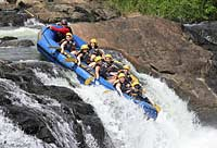 Whitewater Rafting on the Nile, Uganda