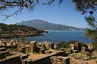 Archeologic site of Tipaza, Algeria