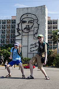 In Revolution Square, Havana, Cuba