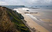 D-Day beachs, Coast of Normandy