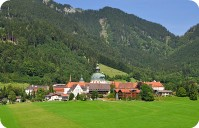 Ettal Monastery,Upper Bavaria,Germany
