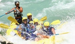 Whitewater rafting in Turkey