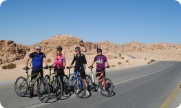 Riding to Little Petra