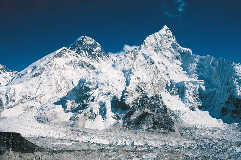 Classic view of Everest from Kala Pattar