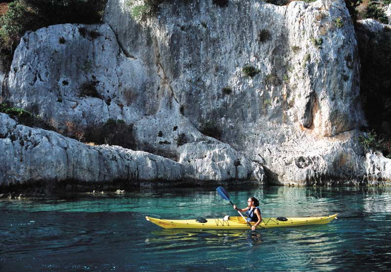 Kayaking on the Turquoise Coast