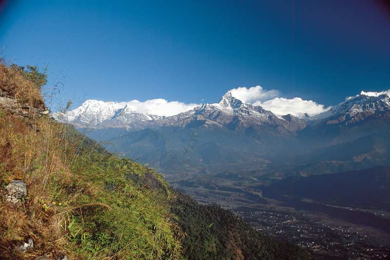 Machhapuchhare and the Annapurnas