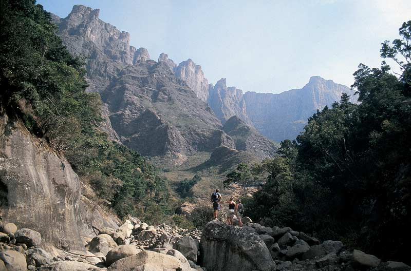 The Ampitheatre, The Drakensberg Mountains, Kwazulu-Natal