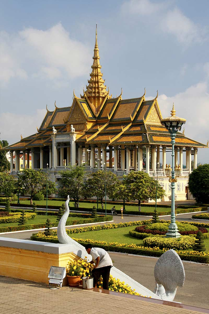 Royal temples in Phnom Penh