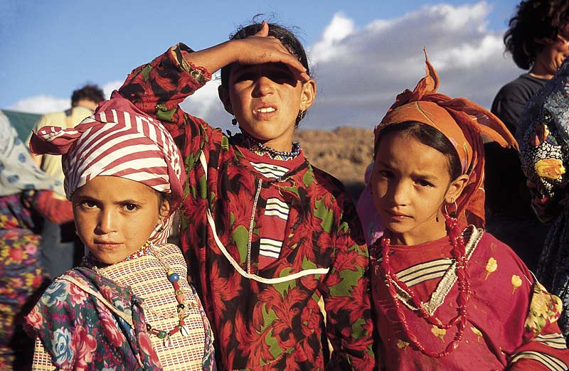 Berber girls