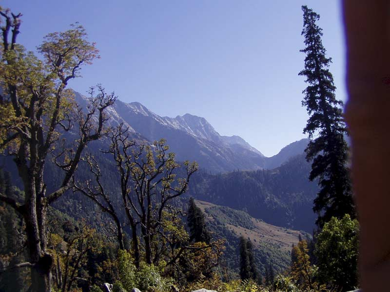 The Dhaula Char Range near Dharamsala
