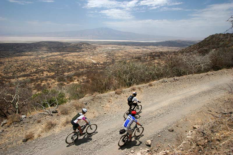Cycling in Tanzania