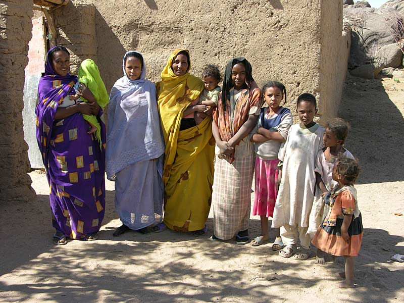 Local women & children, Sudan