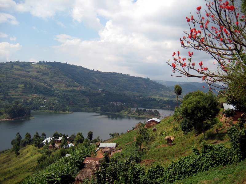 A pretty view in Uganda