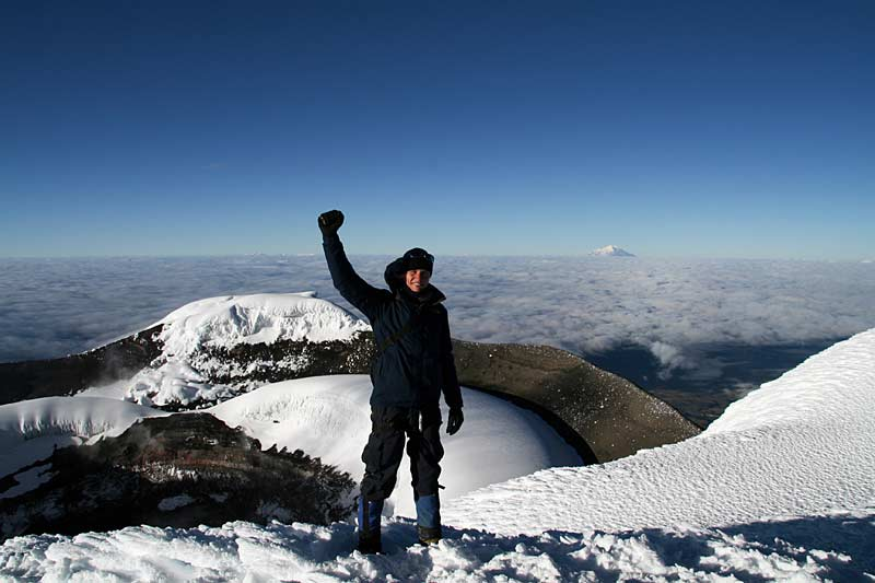 Top of Cotopaxi