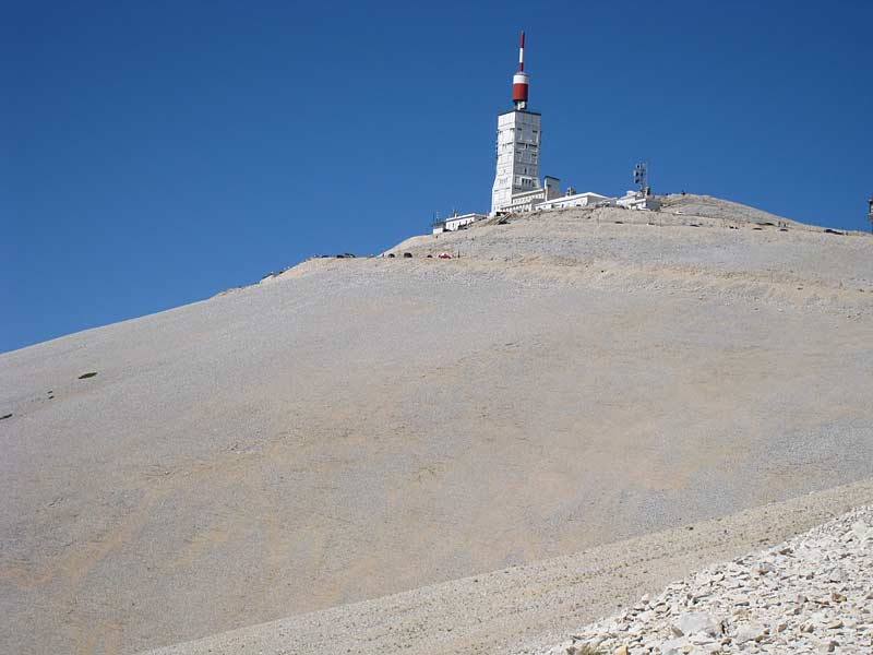 Mt Ventoux summit
