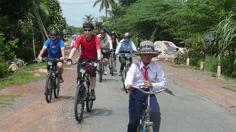 Cycling through Cambodia