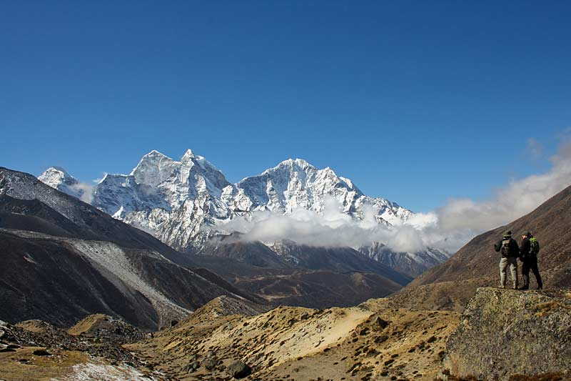 Trekking to Thyangboche, Everest Basecamp trek.