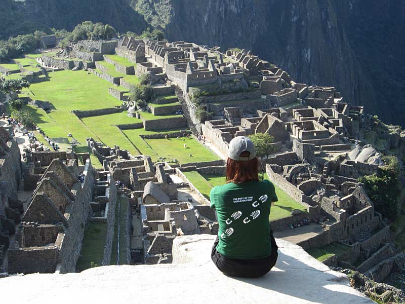 Spectacular views of Inca Ruins