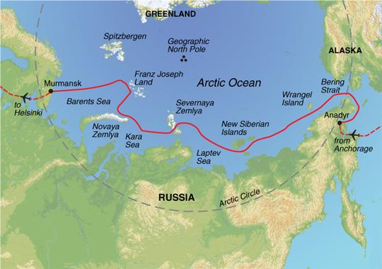 severnaya zemlya map. Severnaya Zemlya.