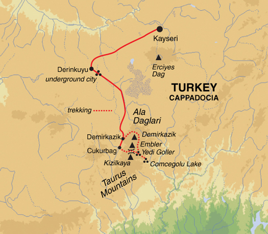 The gallery for --> Anatolian Plateau Map