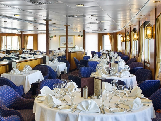 Sea Adventurer's Dining Room