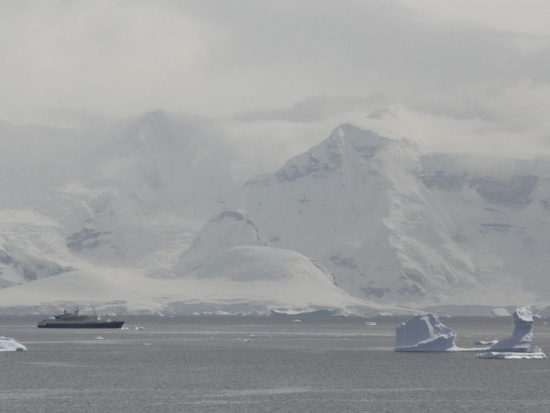 Sea Adventurer in Antarctica