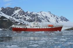 Adventure ship m/v Antarctic Dream